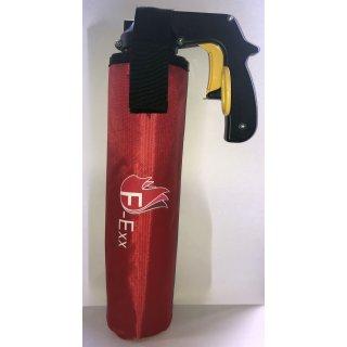 Kfz-Halter Stofftasche mit Kletthalterung für F-Exx 8.0 Feuerlöscher